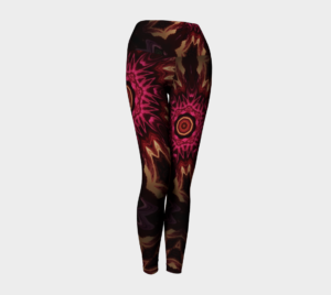 image of bohemian beauty yoga leggings