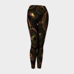 image of catherine wheel yoga leggings