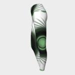 image of green eyed yoga leggings