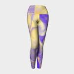 image of shells yoga leggings