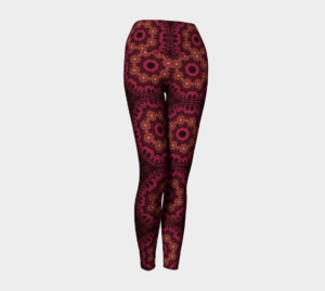 image of magic mosaic yoga leggings