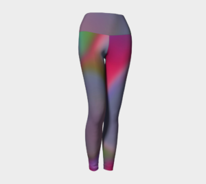 Image of swirlygig yoga leggings