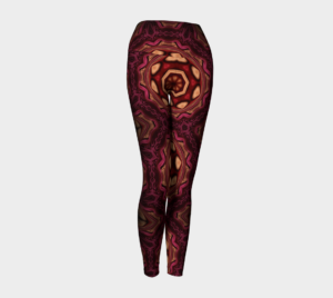 image of rich tapestry of life yoga leggings