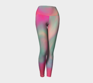 image of pastel perfect yoga leggings
