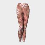 image of flowers of the east yoga leggings.