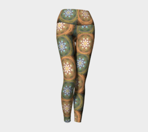 image of eastern mix yoga leggings