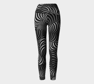 image of helter skelter yoga leggings